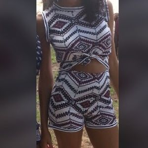 Printed two piece